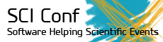 SciConf: Software helping scientific events